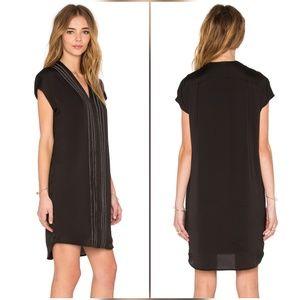 Vince Dresses & Skirts - Vince Embroidered Black White Dress