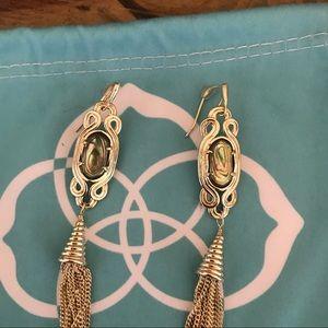 e0f38a192 Kendra Scott Jewelry - Kendra Scott erin tassel abalone earrings