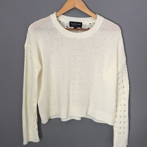 ⚡️FLASH SALE ⚡️Crop Crochet Sweater