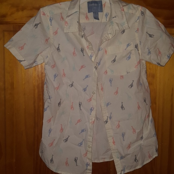 66 Off Forever 21 Other Boys Button Down Shirt With