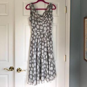 Polka Dot Garden Party Dress