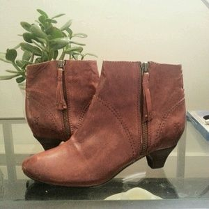 Frye Booties - Worn Once!