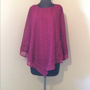 Kim Rogers Sweaters - KIM ROGERS lace sweater