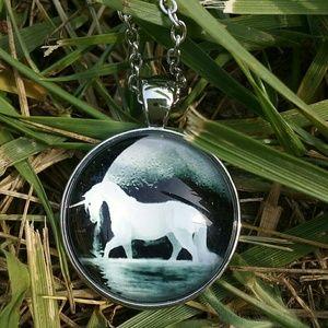 Jewelry - Unicorn in Moonlight