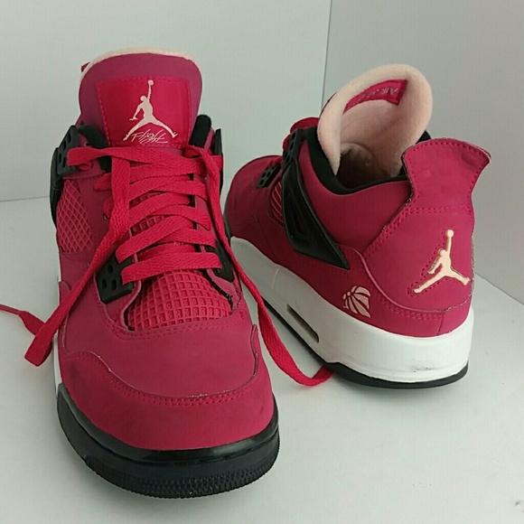 Air Jordan Retro 4 Iv Womenyouth Shoes