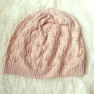 PacSun Accessories - Light Pink Slouchy Beanie