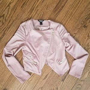 Jackets & Blazers - Blush Mini Jacket