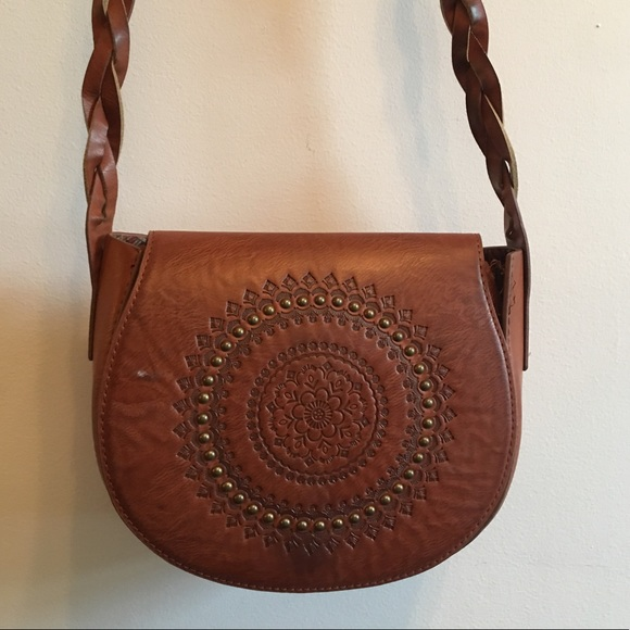 Forever 21 Handbags - Brown Faux Leather Mini-Purse