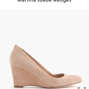 J. Crew Shoes - J. Crew suede Martina wedges