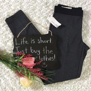 Maison Jules Pants - Maison Jules Frankie dark gray super slim legging