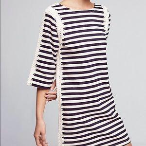 Anthropologie Pepin Nautical Tunic Dress