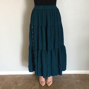 Southwest Canyon Dresses & Skirts - Vintage Western Style Maxi Skirt
