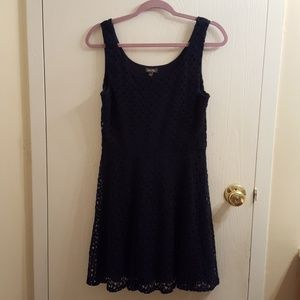 Lily Rose Dresses & Skirts - Navy Blue Lily Rose Skater Dress Size L