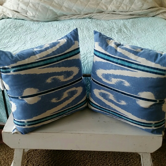 47% off Pottery Barn Other Pottery Barn Exclusive NEW Outdoor pillows 24x24