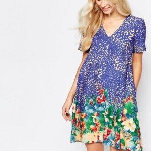 Animal/Floral Print ASOS Dress