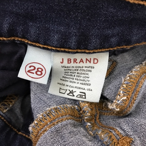 j brand sale j brand dark wash blue skinny jeans veruga from oona 39 s closet on poshmark. Black Bedroom Furniture Sets. Home Design Ideas