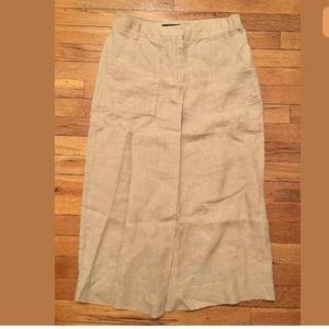 MaxMara weekend Linen skirt