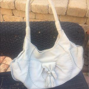 Cate Adair leather purse
