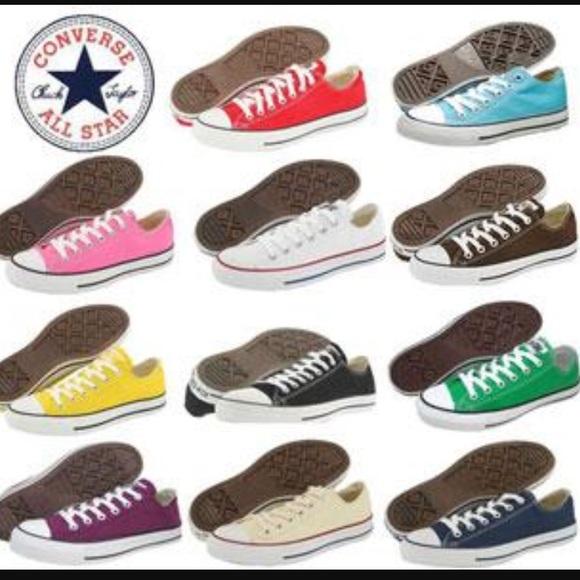 Allstar Converse Shoes | Alll Colors