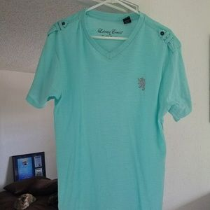 English Laundry Other - Men's Teal V-neck T-shirt