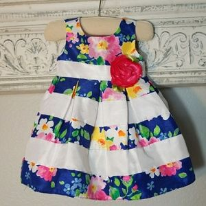 Youngland Other - Blue/White and Flower Dress
