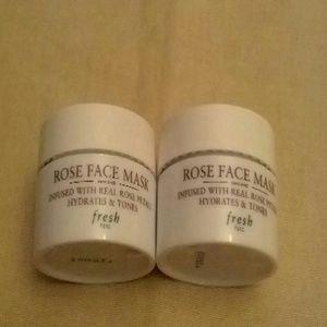 2 Rose Face Mask Bundle