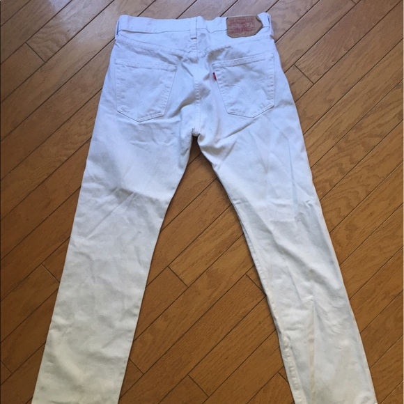 75 off levis other mens white levis 501 straight leg