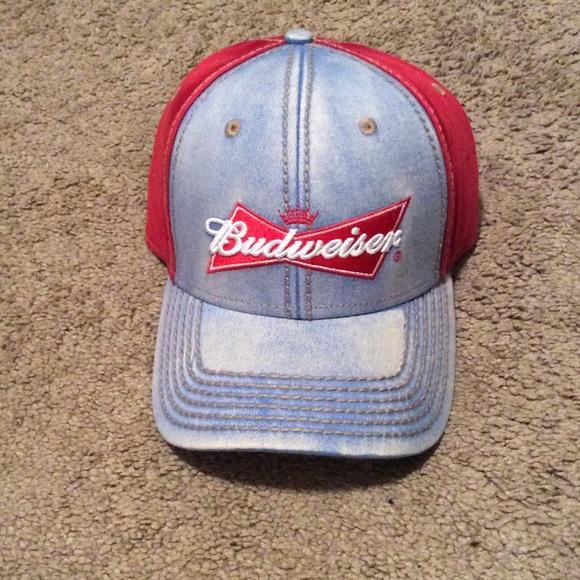 Budweiser Other - Denim Budweiser baseball hat f8974ed0ce3c