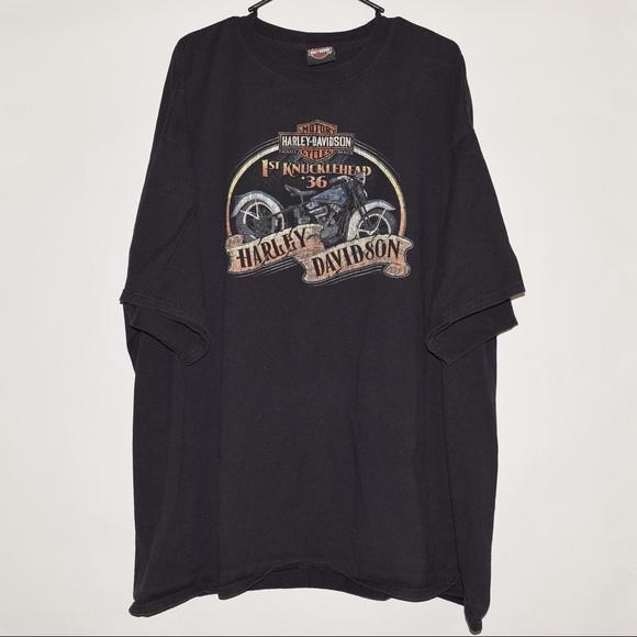 4e34ccc130f0 Harley-Davidson Other - Rare Harley Davidson Knucklehead Minuteman MA Tee