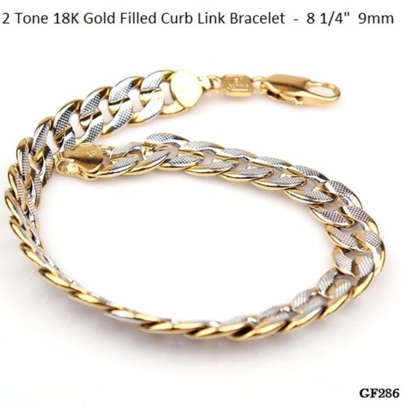 91 off Other Stamped 14K Brazilian Gold Filled Bracelet GF286