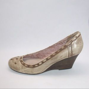Anthropologie Shoes - Seychelles Antique Studded Wedge Shoes