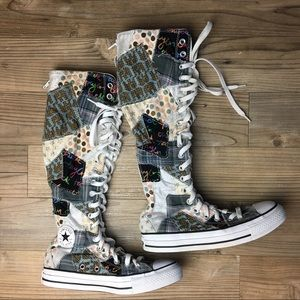 Converse Other - Converse Chuck Taylor AllStar Patchwork Shoes 4