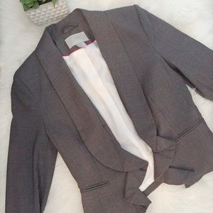 Pink and gray Blazer