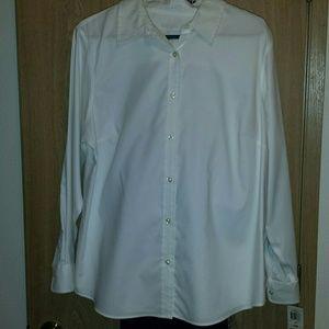 Charter Club white button-down shirt