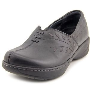 Dansko Shoes - DANSKO BLACK CLOGS ABIGAIL MILLED FULL GRAIN SZ 39