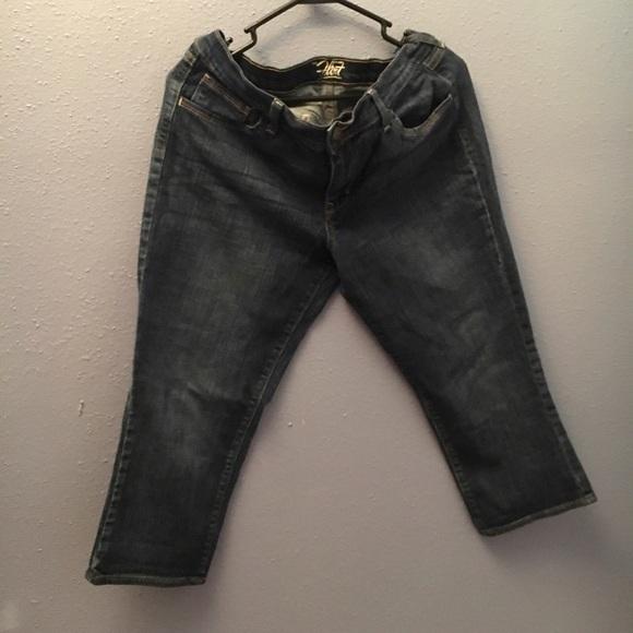 old navy flirt capri pants