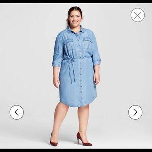 Ava & Viv Dresses & Skirts - New AVA & VIV plus size shirt dress