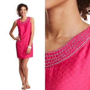 Vineyard Vines Dresses & Skirts - Vineyard Vines Dobby embellished shift dress