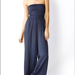 Forever 21 navy jumpsuit