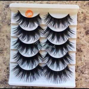 5 Pairs Dramatic a Fluttery Eyelashes