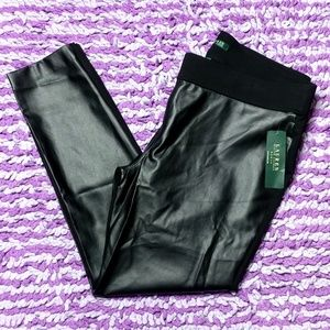 Lauren Ralph Lauren Pants - $135 Lauren Ralph Lauren Faux Leather Pants