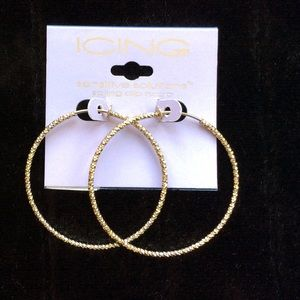 Icing Jewelry - Icing Clip On Hoop Earrings