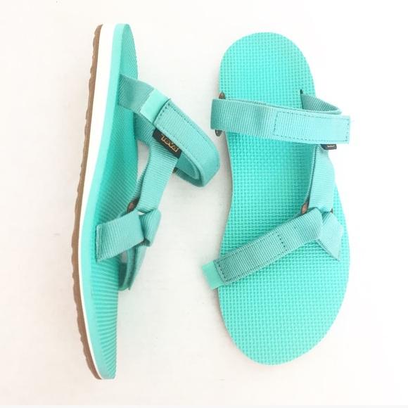 452eec5e5ee8 TEVA • Backless Velcro Sandals. M 597b68b8291a35099b02c107