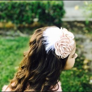 Other - Couture headband, girls headband,vintage headband