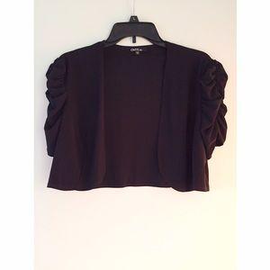 Onyx Sweaters - Cropped Cardigan