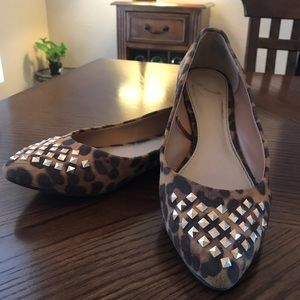 Report Shoes - 🔥Studded Leopard Flats