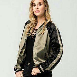 26 International Jackets & Blazers - Satin BomberJacket