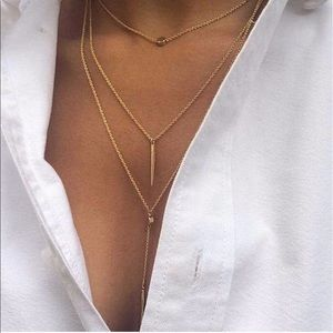 Bellanblue Jewelry - AUSTYN necklace - GOLD/SILVER tone