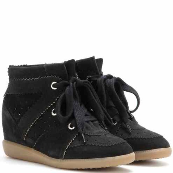 20b6b4e35969 ISABEL MARANT Bobby Wedge Sneakers Boutique