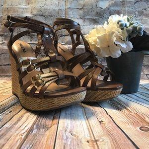 Soda Shoes - Soda Wedge Sandals